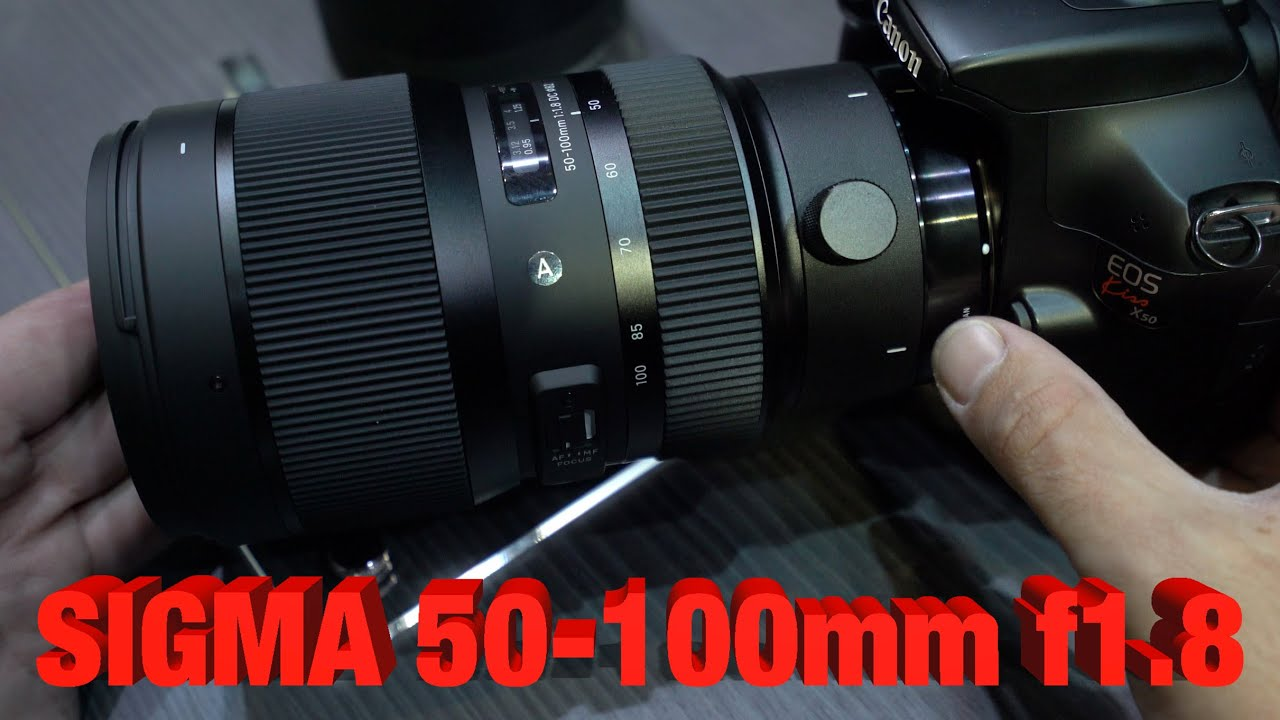 sigma 50 100mm f1 8 art hands on overview youtube. Black Bedroom Furniture Sets. Home Design Ideas