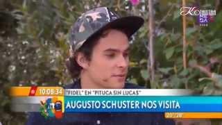 Mucho Gusto || Augusto Schuster Habló de sus proyectos, de su paso por Argentina