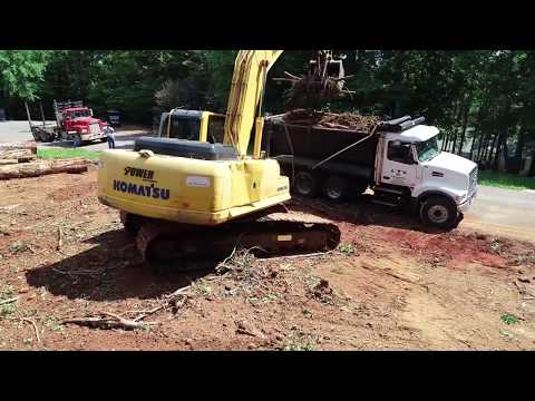 LTS Construction of Huntland TN land clearing project 2