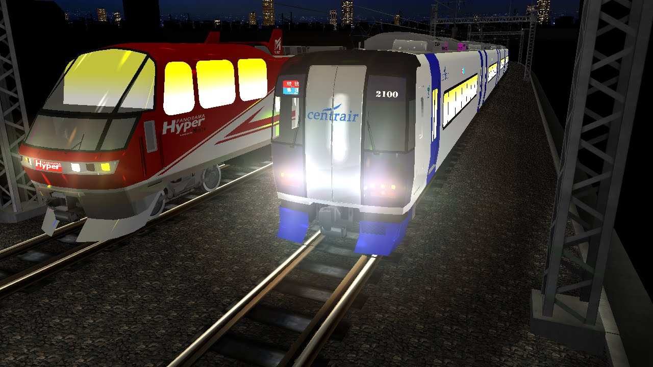 電車でD RisingStage 名鉄名古屋本線 名鉄2000系vs名鉄1000系改