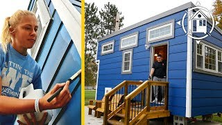 College Students Build Tiny House As A Dorm Room Alternative