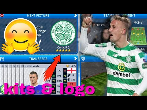 competitive price cdc61 4f892 Dream League Soccer 2019 How To Make Celtic FC Kits & Logo 2019