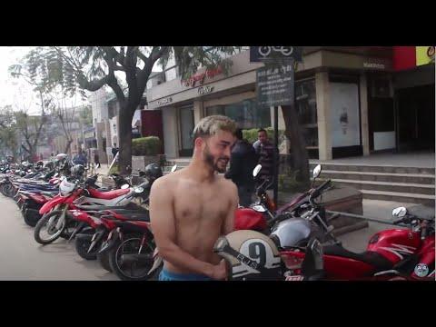 नेकेड bike ride prank | nepali prank | funny nepali video