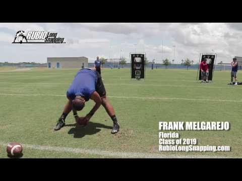 Frank Melgarejo - Long Snapper