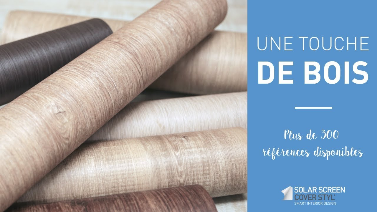 Revêtements adhésifs naturels et texturés : gamme bois Cover Styl ...