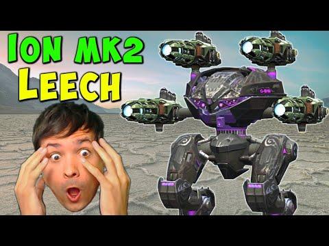 Zaaap! ION LEECH Mk2 LIVE Stream War Robots Gameplay WR