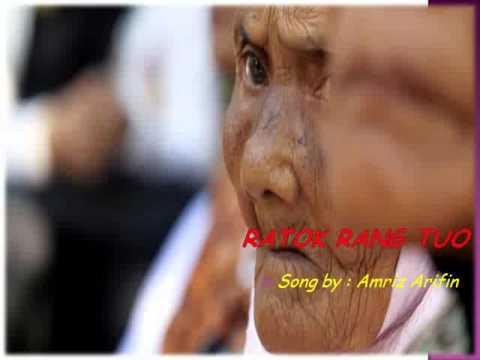 INDANG PARIAMAN - RATOK RANG TUO - song by Amriz Arifin