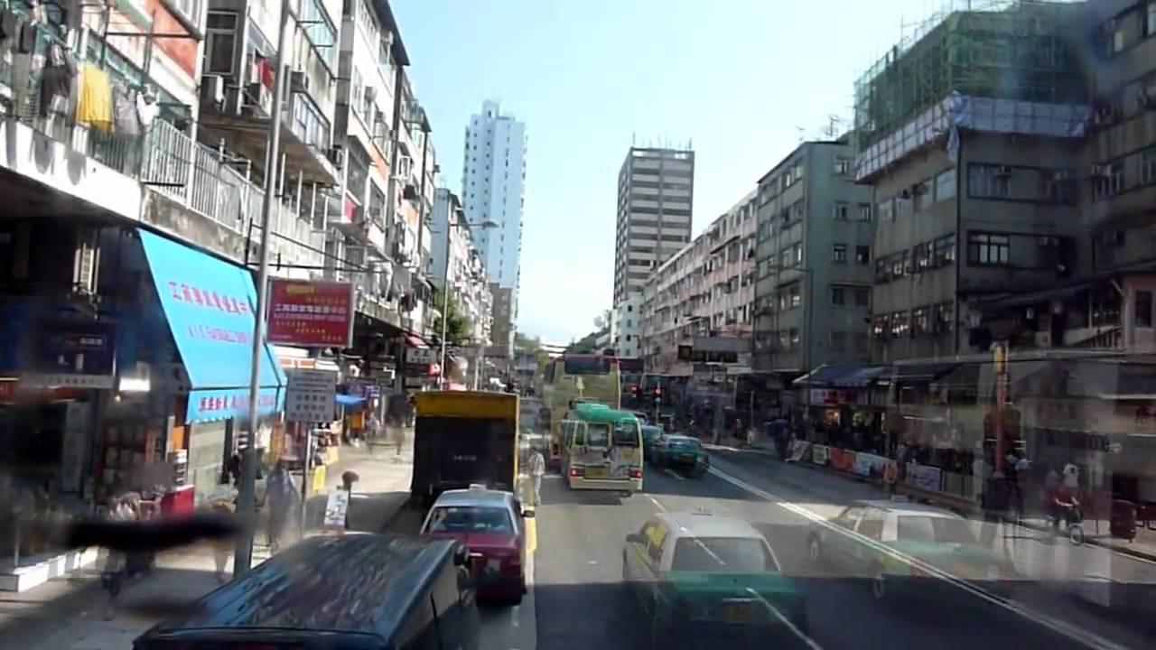 KMB Bus 3AV137 @ 74X 九龍巴士 GX7824 @ 74X 大埔安祥路-大老山隧道 1 - YouTube