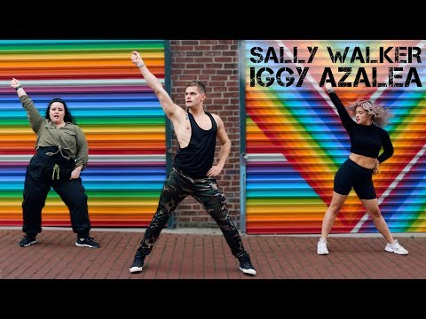 """Work Your Abs and Legs With The Fitness Marshall's New Dance Routine to """"Sally Walker"""""""