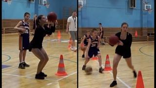 Баскетбол. Тренировка новичка | Мария Жаркова