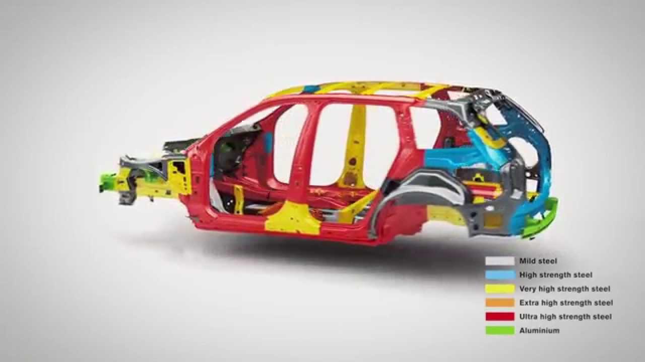 New Volvo XC90 - Body Structure - YouTube
