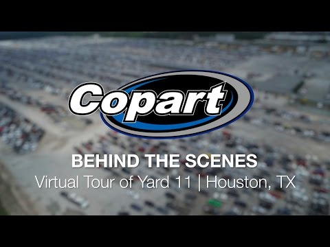 Copart: Behind The Scenes – Virtual Tour Of Yard 11