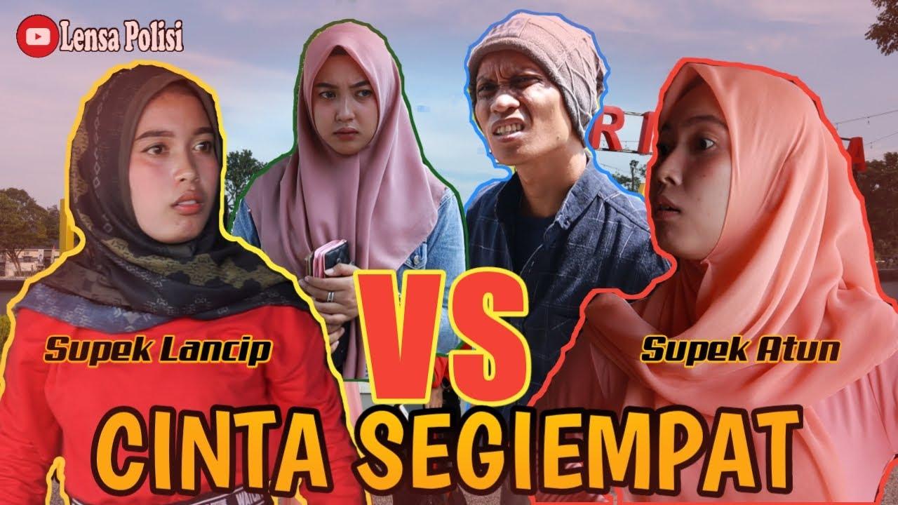 Cinta Terbagi Empat - Short Movie | Lensa Polisi Feat Sopek Lancip
