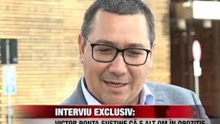 INTERVIU EXCLUSIV: Victor Ponta susține că e alt om în opoziție