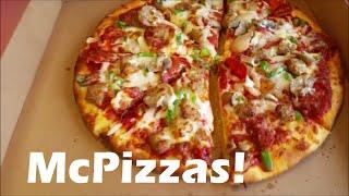 McPizza! - Tasting the elusive McDonald
