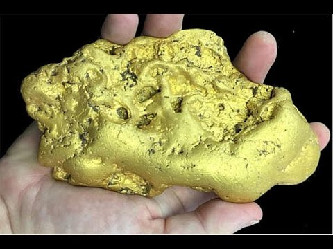 Giant 6 Pound Gold Nugget Found In California Sells For