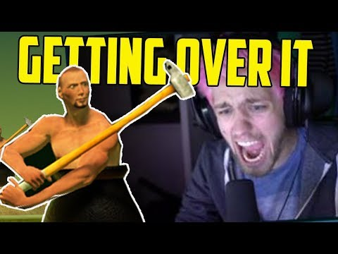 Twitch Rages To Getting Over It with Bennett Foddy (Rage Compilation)