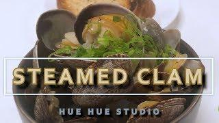 SIMPLE WINE STEAMED CLAMS [RECIPE] 쉽고 간편한 화이트와인 모시조개 찜