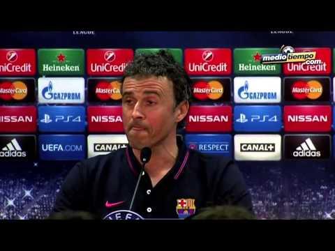 Luis Enrique no se confiará del Bayern de Pep