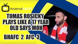 Tomas Rosicky Plays Like A 17 Year Old says Moh - Brighton 2 Arsenal 3