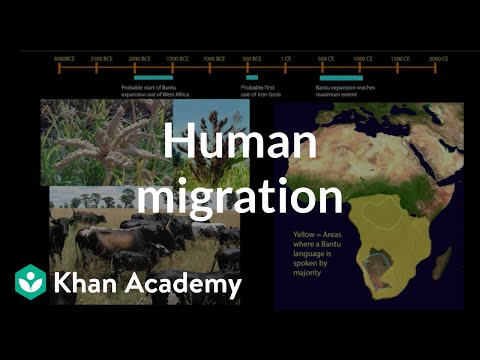 Human migration: sub-Saharan Africa and the Pacific | World History | Khan Academy