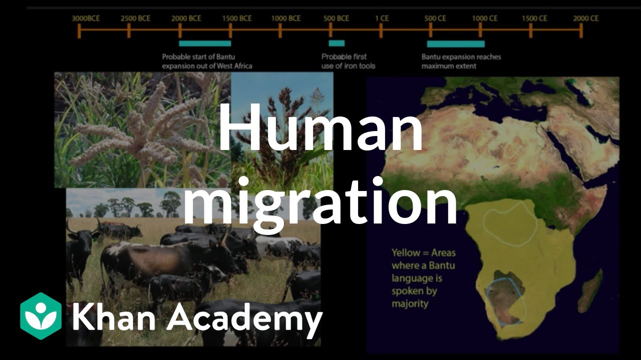 Human Migration SubSaharan Africa And The Pacific World - Which language is spoken by maximum in world