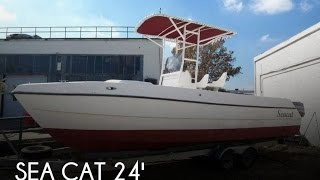 [UNAVAILABLE] Used 1991 Sea Cat 24 CC Catamaran M240F90 in New Orleans, Louisiana