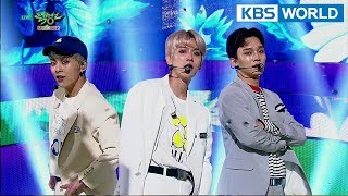 EXO-CBX - Blooming Day | 첸백시 - 花요일 [Music Bank HOT Stage / 2018.04.20]