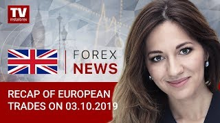 InstaForex tv news: 03.10.2019: Weak US data continues to exert pressure on market (USDX, USD, EUR, GBP)
