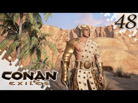 CONAN EXILES - Gold Armor? - EP48 (Gameplay)