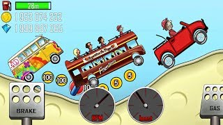 Cars - Hill Climb Racing games BUS Car - Cartoon Сars for kids Android HD