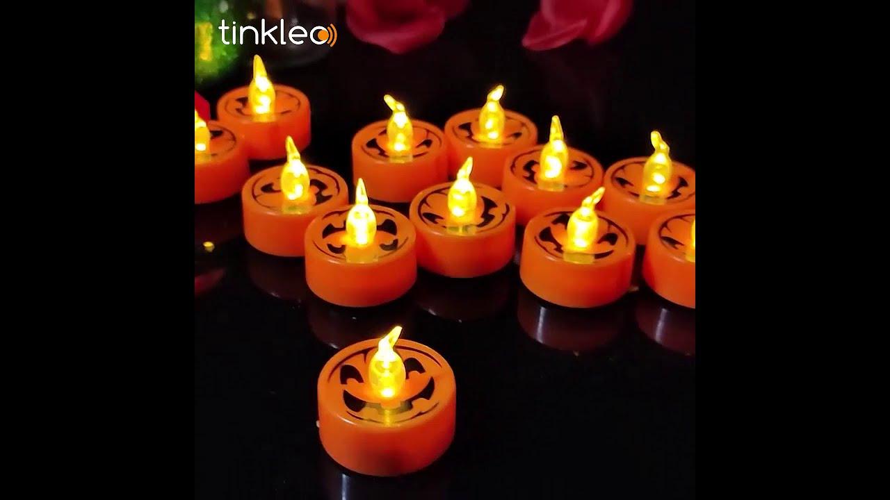 Happy Halloween! 2020 New Waterproof Solar Pumpkin Candle Lamp Halloween Decoration