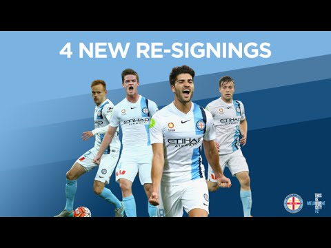 MEDIA: Chapman, Retre, Clisby and Melling Re-Sign with Melbourne City FC