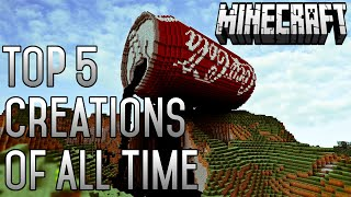 Top 5 Minecraft INSANE Creations Of ALL TIME (February 2015) (1.8.3)