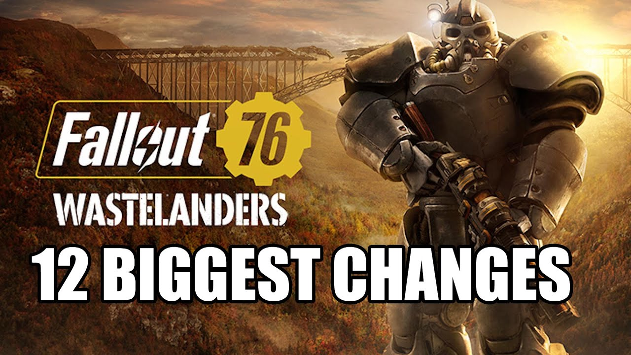 Fallout 76 Wastelanders DLC – 12 Ways It Changes Fallout 76 – GamingBolt