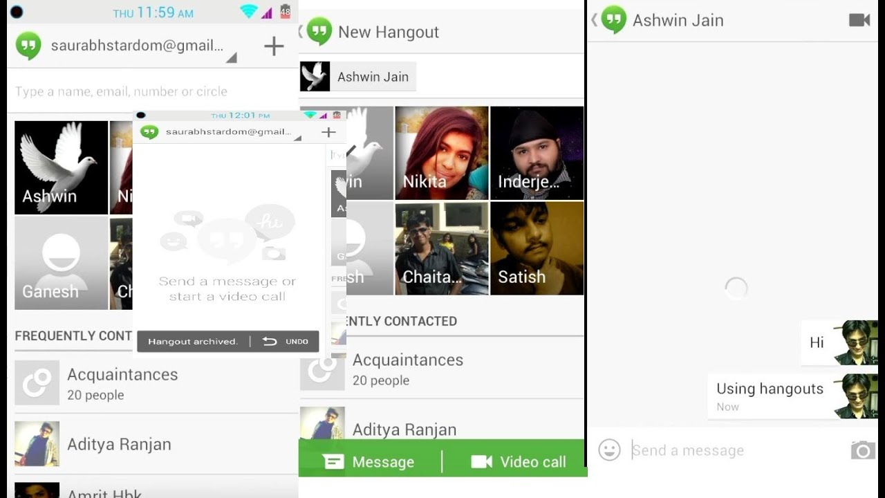 How to Install Hangouts on Android, Google Hangouts Preview - Review