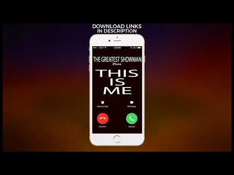 This Is Me Ringtone - The Greatest Showman