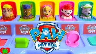 Learn Colors and Counting with Paw Patrol Pop Ups Surprises