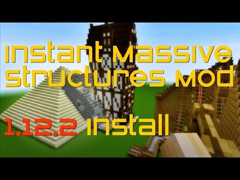 Instant Massive Structures Mod 1 12 2 Minecraft How To Download And Install Imsm 1 12 2