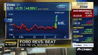 Ford beats the top and bottom line in Q3