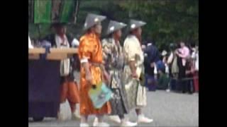 2011年の時代祭りは 雨で10年ぶりに順延開催されました。 京都御...