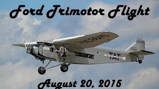 Ford Trimotor Flight in Gusty Conditions