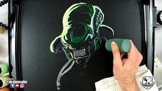 Alien (Covenant) Pancake Art