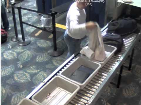Rolex thief strikes at Fort Lauderdale-Hollywood airport.wmv