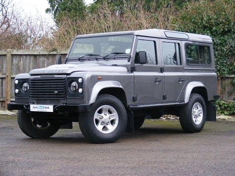 2009 Land Rover Defender 2.4 TD 110 County Station Wagon For Sale In Tonbridge, Kent