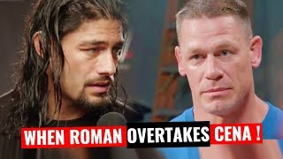 THE TIME : Roman OVERTAKES Cena | Straight To The Point | Wrestle Chatter