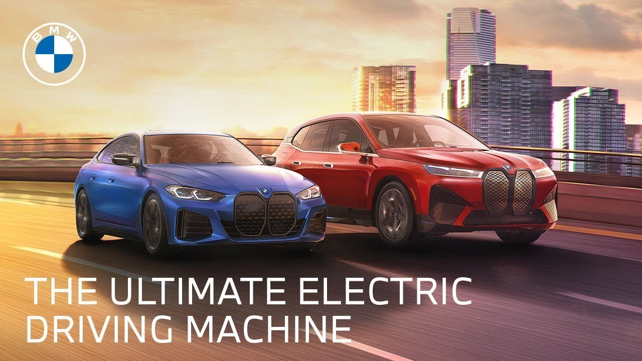 The Next Generation of All-Electric Vehicles: The BMW iX & i4   BMW USA