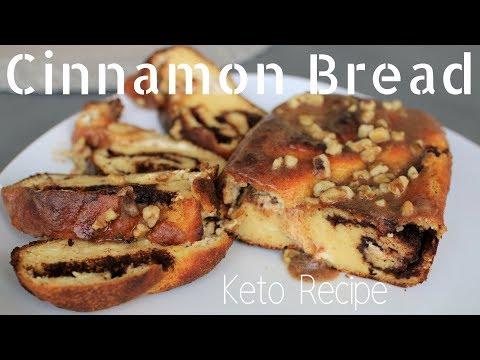 Sticky Cinnamon Bun Bread - Keto Recipe   Ashley Salvatori