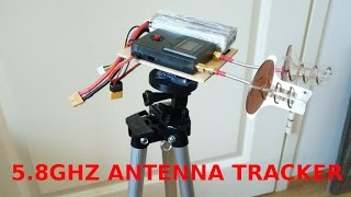SUPER SIMPLE 5.8GHz RSSI ANTENNA TRACKER