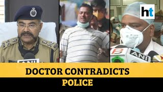 Watch: Doctor contradicts UP police, says Vikas Dubey was brought dead to hospital